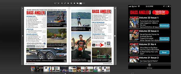 Bass Angler Magazine updates